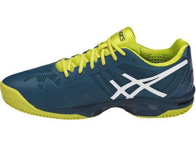 "ASICS Herren Tennisschuhe Sandplatz ""Gel-Solution Speed 3 Clay"" Blau"
