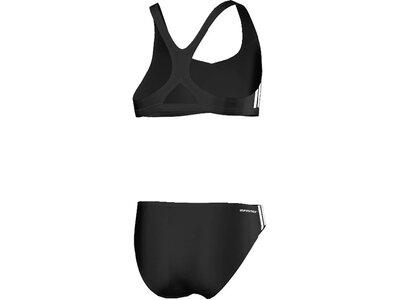 ADIDAS Kinder Bikini 3SA Sporty Bikini Schwarz