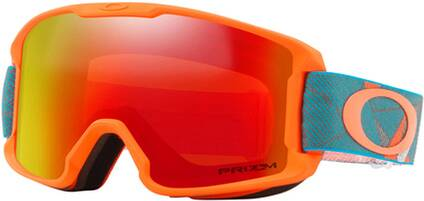"OAKLEY Kinder Ski- und Snowboardbrille ""Line Miner Youth Prizmatic Org Sea"""