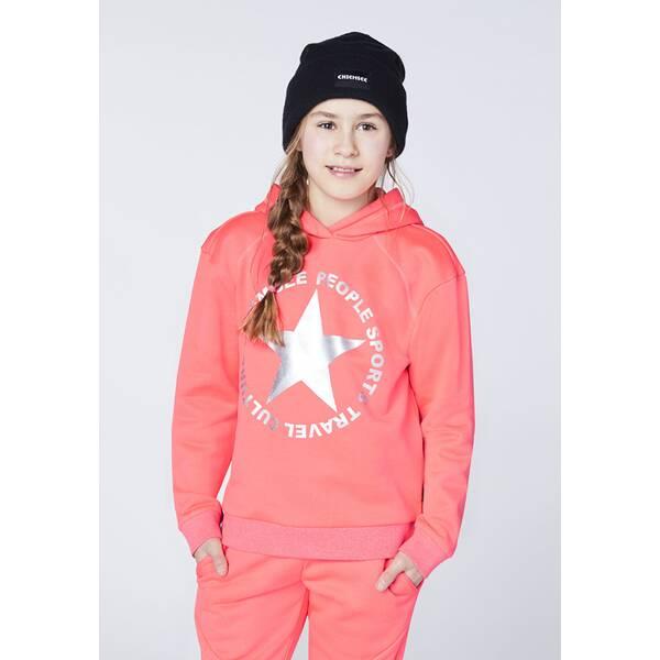 CHIEMSEE Sweatshirt mit Sternen Frontprint