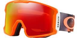"""Vorschau: OAKLEY Skibrille """"Line Miner - Mystic Flow Neon Orange"""""""