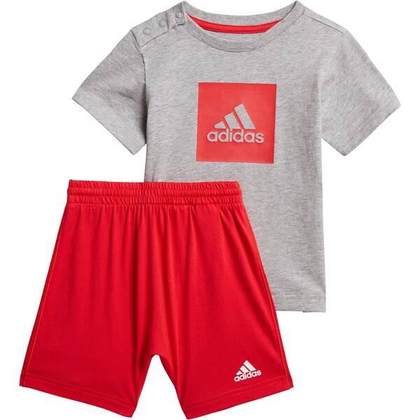 """ADIDAS Jungen Baby und Kleinkind Trainingsanzug """"I Logo Summer Set"""""""
