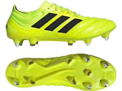 ADIDAS Fußball - Schuhe - Stollen COPA Hard Wired 19.1 SG Gelb