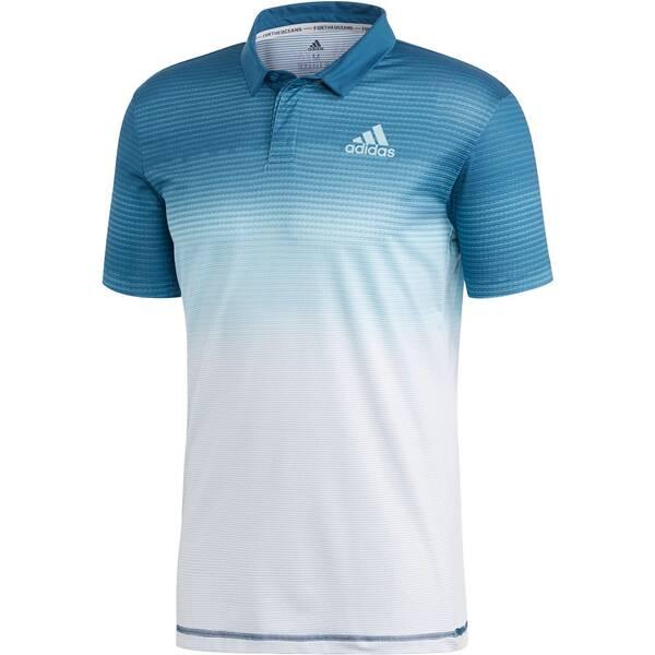 ADIDAS Herren Tennis-Poloshirt Kurzarm