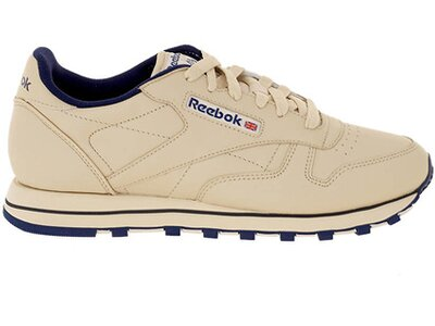 REEBOK Damen Sneaker Classic Leather ecru Blau