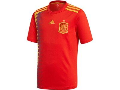 """ADIDAS Kinder Heimtrikot """"Spanien Home Jersey Kids WM 2018"""" Rot"""
