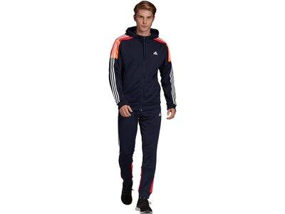 "ADIDAS Herren Trainingsanzug ""MTS Sport"" Schwarz"