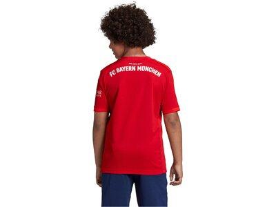 "ADIDAS Kinder Fußball-Trikot ""FC Bayern München Heimtrikot"" Kurzarm - Replica Rot"