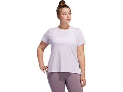 "ADIDAS Damen Trainingsshirt ""Go To Tee""-Plus Size Grau"