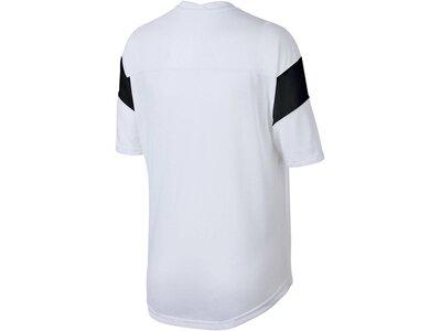 NIKE Damen Trainingshirt Kurzarm Weiß