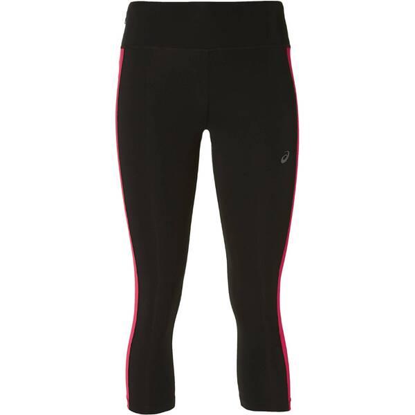 Hosen - ASICS Damen Lauftights Capri Tight › Braun  - Onlineshop Intersport