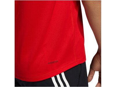 "ADIDAS Herren Trainingsshirt ""FreeLift Bedge of Sports"" Rot"