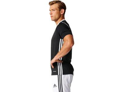 "ADIDAS Herren Fußballshirt ""Tiro 17 Jersey"" Kurzarm Grau"