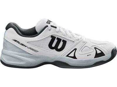"""WILSON Jungen Tennisschuhe Indoor """"Rush Pro Jr. 2.5"""" Weiß"""