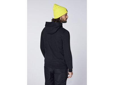 CHIEMSEE Sweatshirt aus GOTS-zertifizierter Bio-Baumwolle Schwarz
