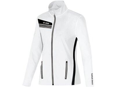 JAKO Damen Jacke Athletico Weiß