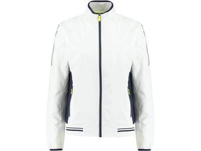 DUNLOP Damen Tennisjacke Weiß