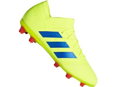 ADIDAS Fußball - Schuhe Kinder - Nocken NEMEZIZ Virtuso 18.1 FG J Kids Grün