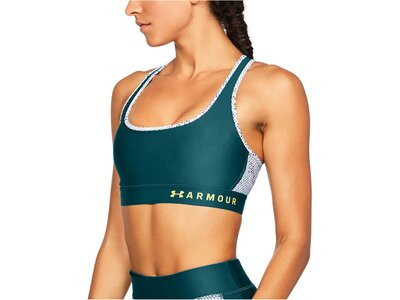 "UNDERARMOUR Damen Sport-BH ""Armour Mid Crossback Printed Bra"" Grün"