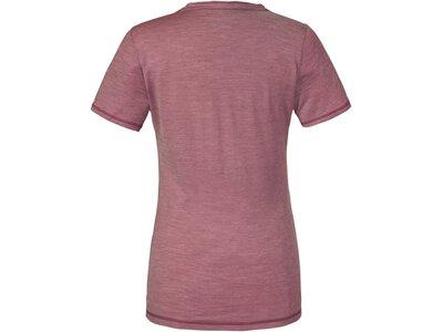 SCHÖFFEL Damen Funktionsshirt Aurora1 Kurzarm Pink