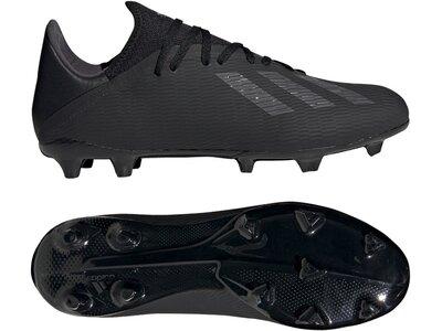 ADIDAS Fußball - Schuhe - Nocken X Uniforia 19.3 FG Grau