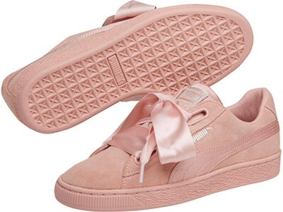 "PUMA Damen Sneaker ""Suede Heart EP"" Braun"