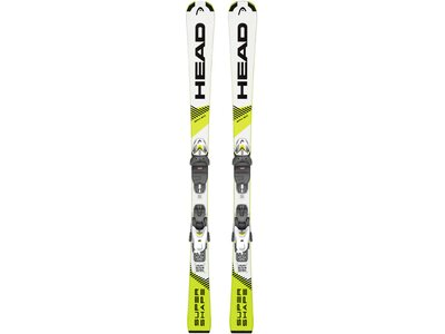 "HEAD Kinder Ski ""Supershape SLR Pro / SLR 4,5 GW"" Gelb"