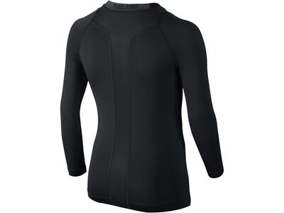 NIKE Boys Fitnessshirt Pro Combat Hypercool Compression HBR Langarm Schwarz