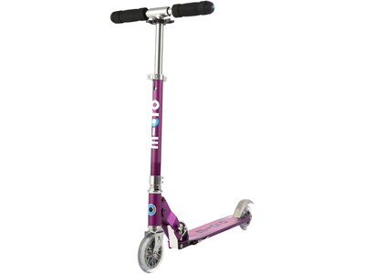 "MICRO Kinder Roller ""Scooter Sprite Special Edition"" mit Streifen Lila"