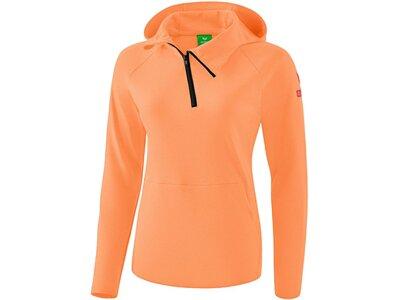 ERIMA Fußball - Teamsport Textil - Sweatshirts Essential Kapuzensweat Damen Orange