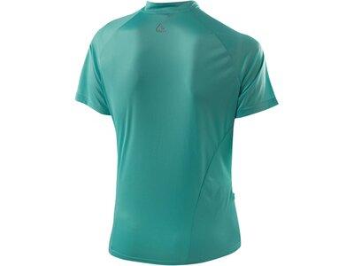 LÖFFLER Damen Radshirt Bike Shirt 1973 HZ Kurzarm Blau