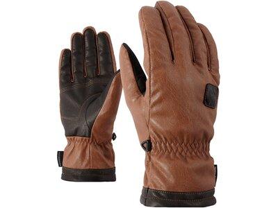 """ZIENER Handschuhe """"Isor"""" Braun"""