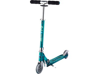 """MICRO Kinder Roller """"Scooter Sprite"""" mit Streifen Blau"""