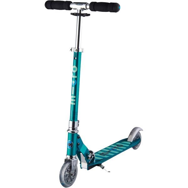 """MICRO Kinder Roller """"Scooter Sprite"""" mit Streifen"""