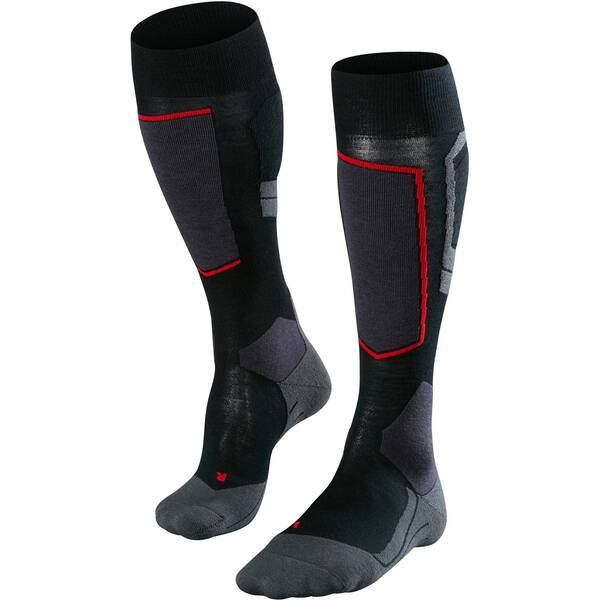 FALKE Herren Skistrümpfe SK4 | Sportbekleidung > Funktionswäsche > Skisocken | Black | FALKE