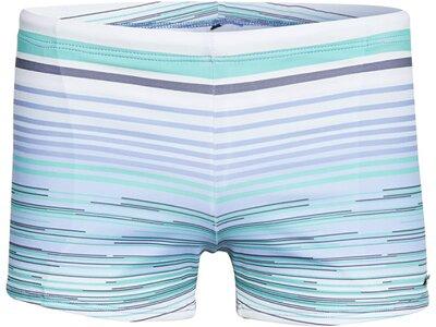CHIEMSEE Boxer-Badehose gemustert Blau