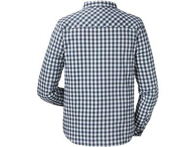 SCHÖFFEL Herren Outdoor-Hemd Miesbach2 Active Fit Langarm Blau