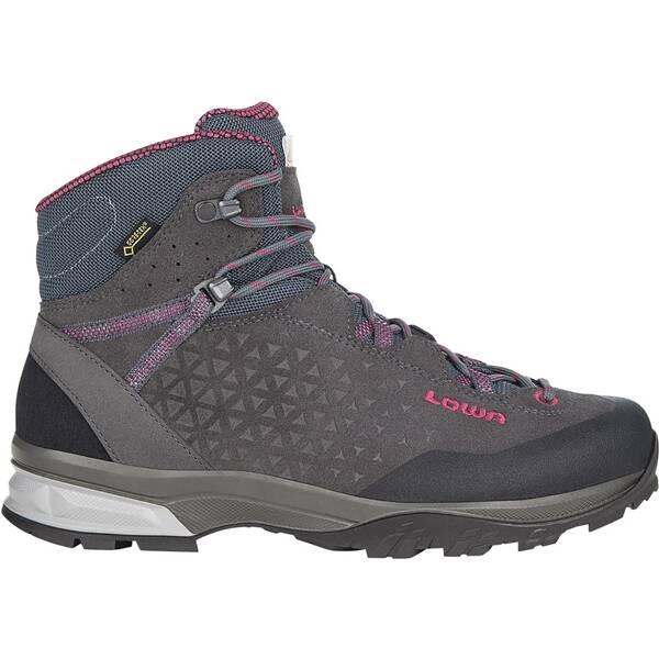 LOWA Damen Trekkingsschuhe Sassa Gtx® Mid Ws   Schuhe > Outdoorschuhe > Trekkingschuhe   Anthrazit - Fuchsia   Ws - Pu   LOWA