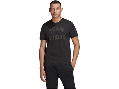ADIDAS Herren T-Shirt VRCT Short Sleeve Tee Schwarz