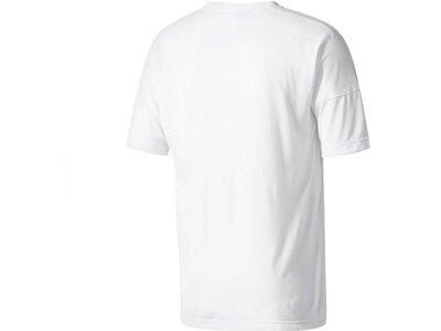 ADIDAS Herren Trainingsshirt ZNE Tee 2 Wool Weiß