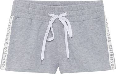 CHIEMSEE Sweatshorts einfabrig mit kontrastierendem Schnürband