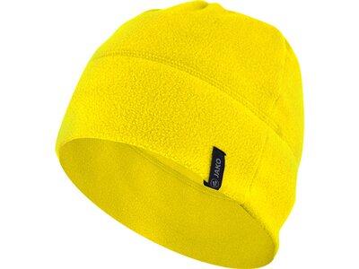 JAKO Unisex Fleecemütze Gelb