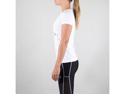 T-Shirt Premium Basic Brand T-Shirt Weiß