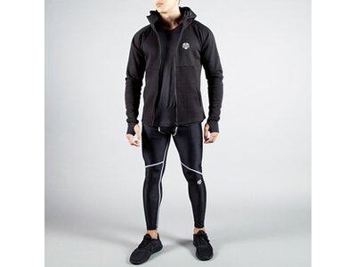 Sport-Sweatjacke Neotech Full Zip Hoodie Schwarz