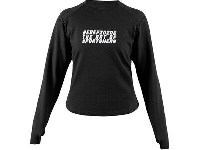 Sweatshirt Active Dry Sweatshirt Schwarz