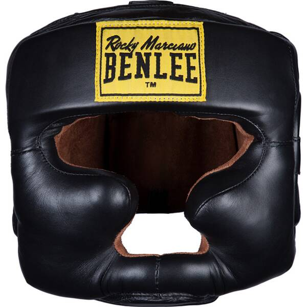 BENLEE Kopfschutz aus Leder FULL FACE PROTECTION