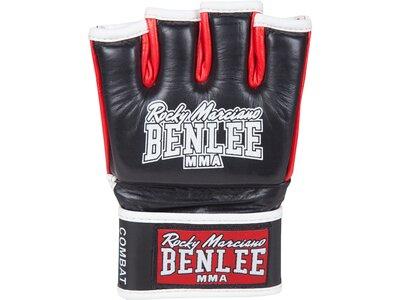 BENLEE MMA-Handschuhe aus Leder COMBAT Rot