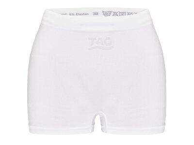 TAO Nahtlose Damen Funktionsboxer  Nachhaltig & fair BOXER Weiß