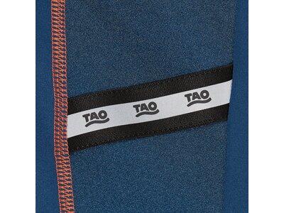 TAO Nachhaltiges Damen langarm Funktionsshirt mit Reißverschluss ANISHA Blau
