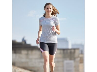 TAO Atmungsaktives Damen Shirt | Nachhaltig & fair EBRU Grau